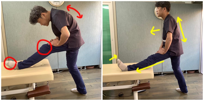 足裏の筋肉を伸ばすストレッチ